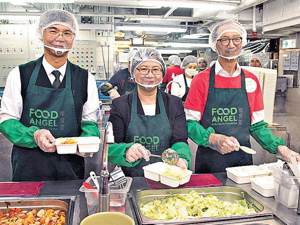 賽馬會撥款 惜食堂推動 外展送飯服務 社區送暖