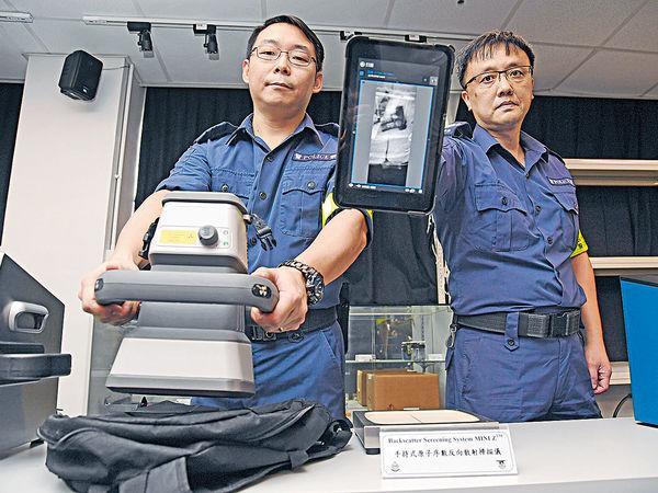 大型活動或政要訪港時出動 警察搜查隊反恐前綫