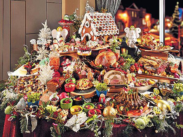海景聖誕自助餐 送$100餐券