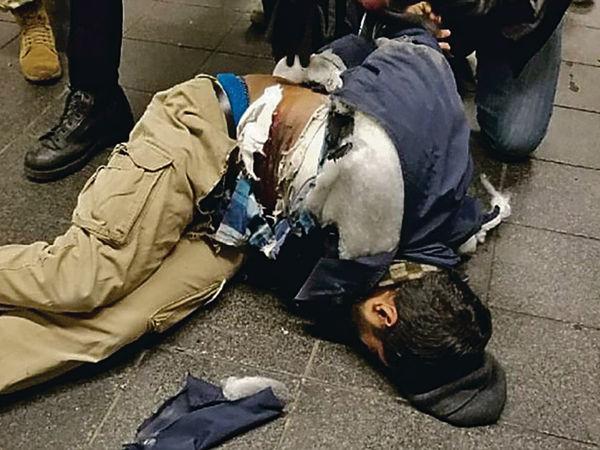紐約時代廣場恐襲 4人傷拘1孟加拉人