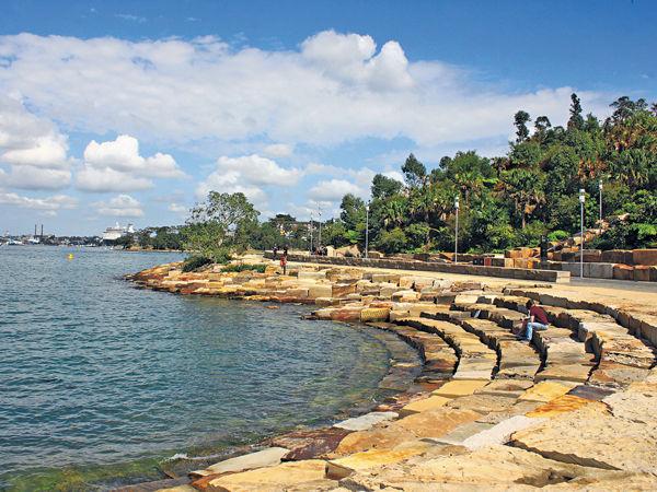 悉尼新蒲點 堤岸寫意散步
