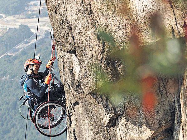 首名華人入圍最佳體育時刻 輪椅包山王感動全球