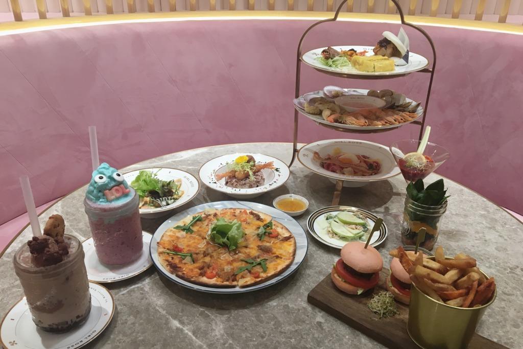 以粉紅夢幻為主調  全新餐廳登陸荃灣