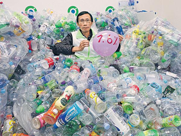 84%回收商拒收 廢膠樽恐直送堆填