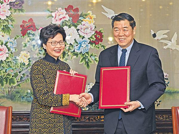 中港簽「一帶一路」協議 聚焦6大合作