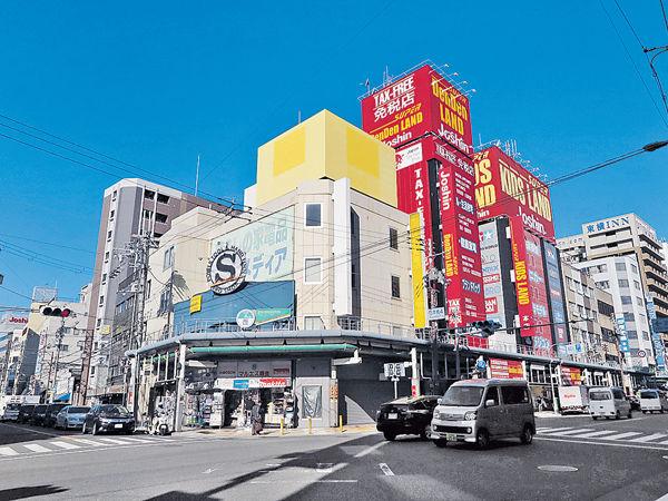 大阪惠美須町 闖電玩街 住新酒店