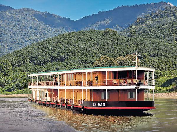 去東南亞坐豪華河船