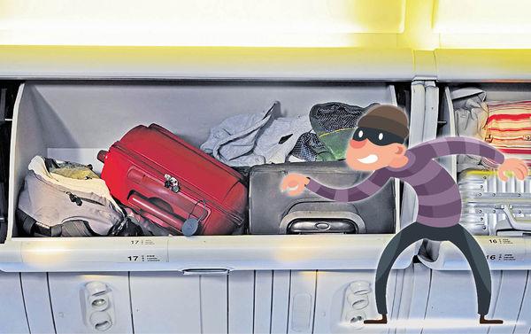 「機艙老鼠」猖狂 公然翻袋偷竊