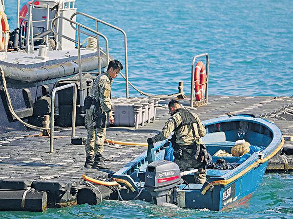 6人蛇西貢圖搶灘 遭警截獲