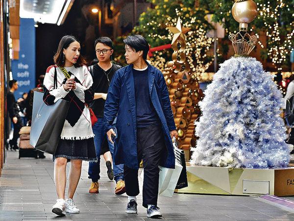 零售回暖 新地料聖誕生意升1成