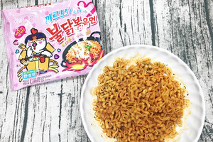 試食韓國Carbonara辣雞麵  越食越過癮