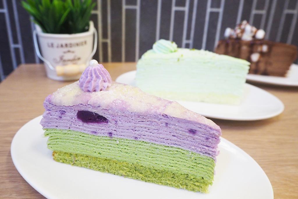 西營盤人氣千層蛋糕店 新推出抹茶紫薯/石板街味