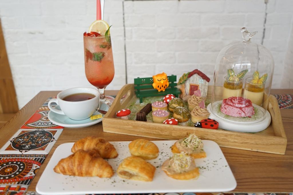 太子Cafe推秘密花園主題下午茶 歎11款鹹甜點