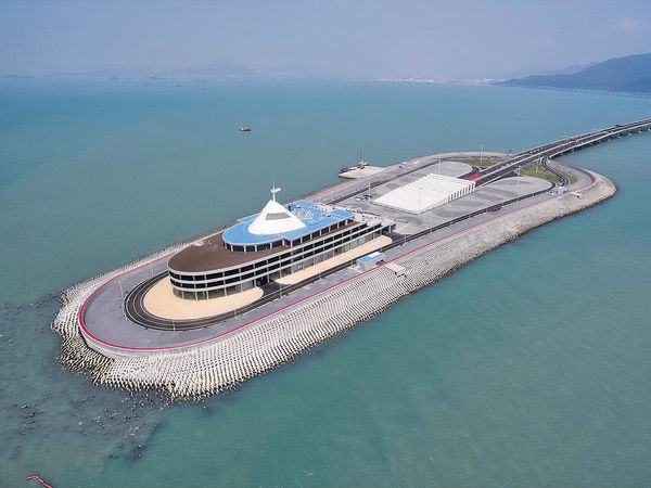 港珠澳橋防波堤爭議 擺放方法關鍵