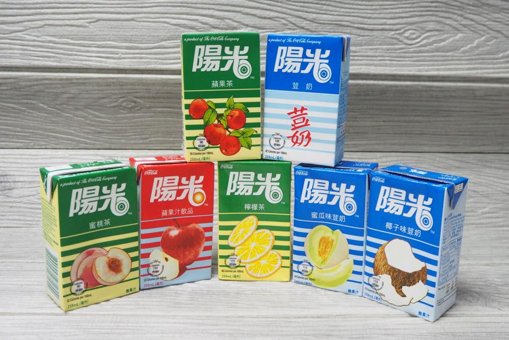 12款復刻版陽光飲品回歸   同步加推蘋果茶口味