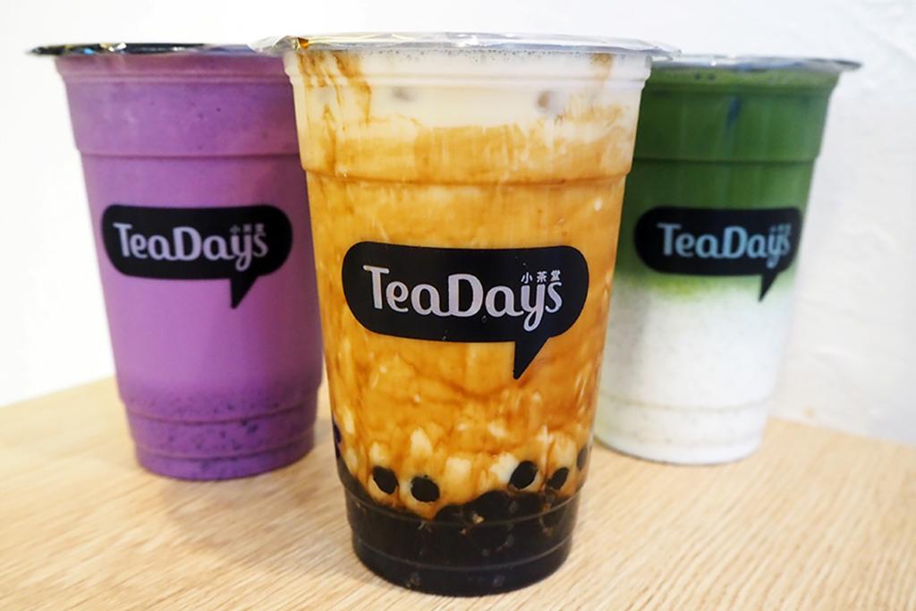 旺角新開茶飲店 足料黑糖珍珠奶茶/紫薯抹茶Latte