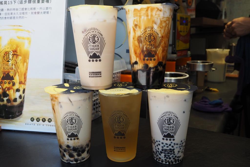 香港都有得飲波霸厚鮮奶!台灣老虎堂正式登陸銅鑼灣
