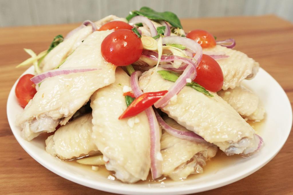 【雞翼食譜】簡易涼拌食譜!5步整出泰式酸辣雞翼