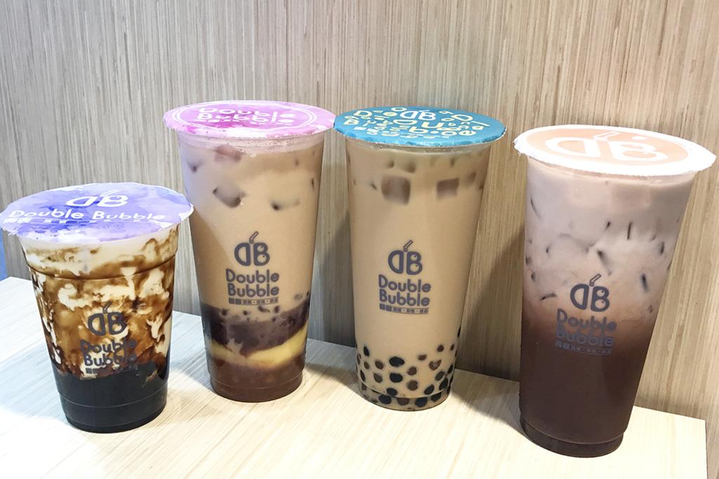 深水埗台式茶飲店新開張 黑糖珍珠鮮奶/雙色珍珠炭焙烏龍奶茶