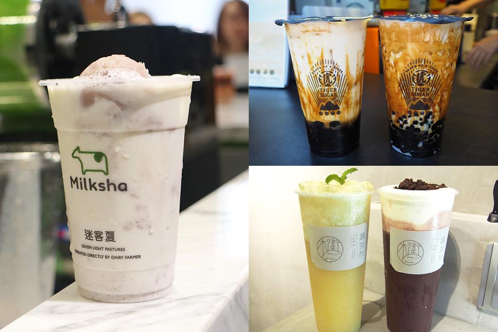 銅鑼灣3間茶飲過江龍 波霸鮮奶/芋頭鮮奶/手泡茶