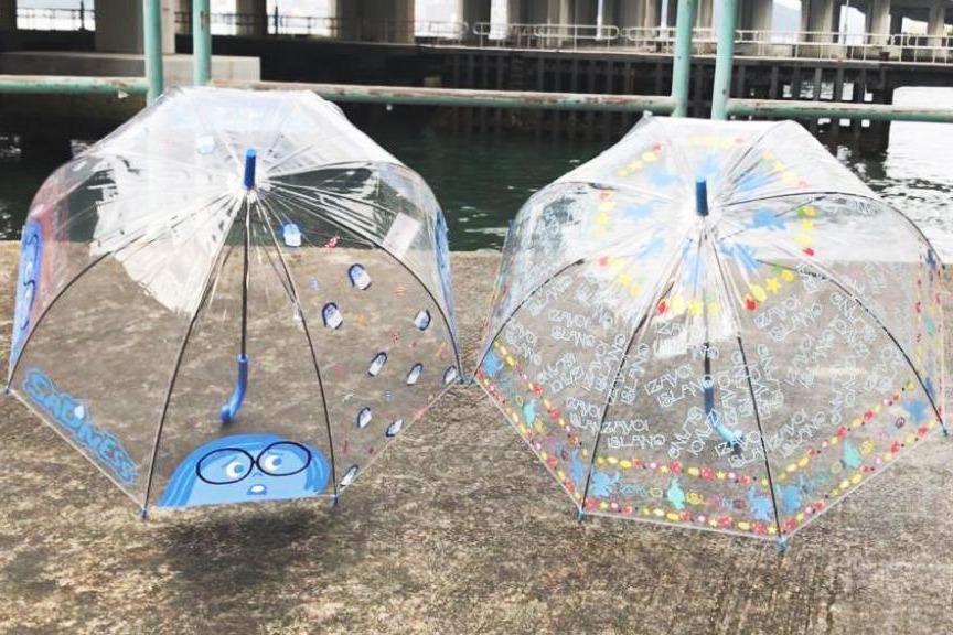 7-Eleven便利店全新推出!兩款迪士尼阿愁+史迪仔透明雨遮