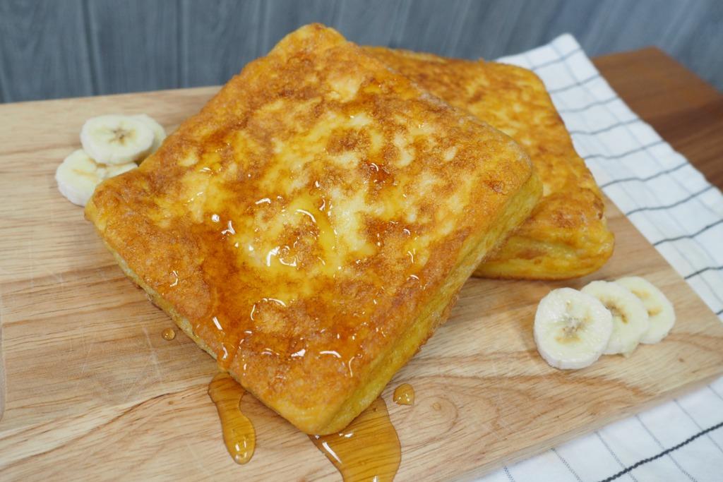 【甜品食譜】輕鬆歎港式下午茶 4步自製香蕉西多士