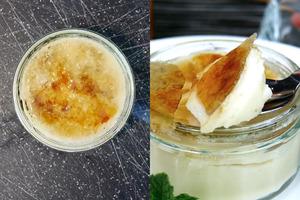 【素食食譜】4步輕鬆完成!純素低脂焦糖布甸
