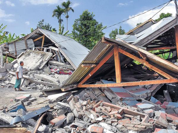 印尼強震 加州山火 日本颱風 全球天災頻繁