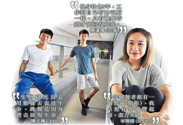 3青年放下工作 舞出夢想