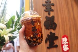 【銅鑼灣飲品】人氣手工黑糖珍珠   台灣幸福堂銅鑼灣正式開業!