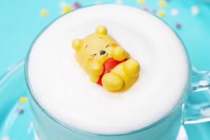【韓國Cafe打卡】韓國Cafe自家製卡通甜品 小熊維尼/反斗奇兵/比卡超/蠟筆小新蛋白餅