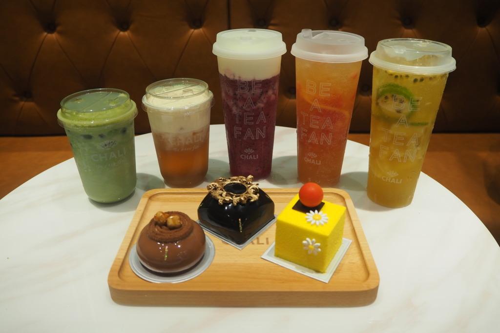 【銅鑼灣飲品】中國茶飲店茶里進駐銅鑼灣  天然奶蓋果茶+蛋糕麵包