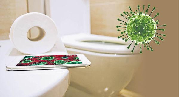 手機mon 污糟過座廁