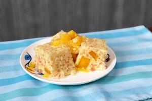 【夏日食譜】夏日消暑甜品4步就整到!冰凍楊枝甘露椰汁糕食譜