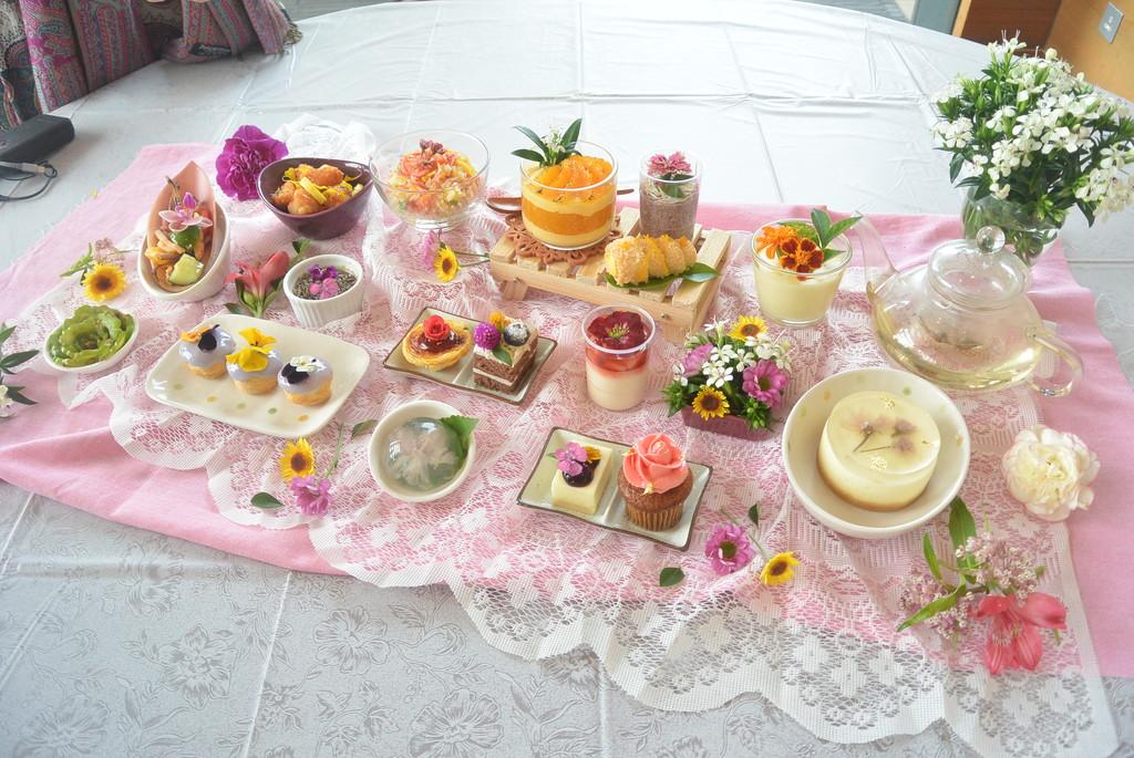 【東涌下午茶】東薈城酒店$148超值下午茶自助餐  一次嘆盡20款鮮花鹹甜點+中西菜