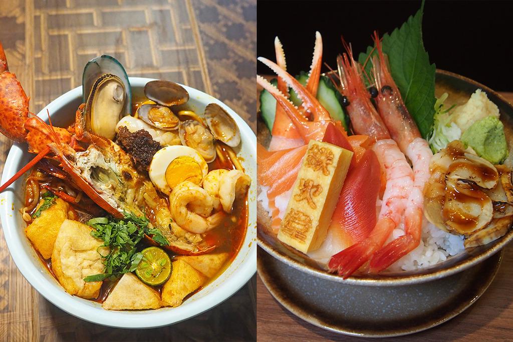 【旺角美食】旺角4間餐廳推介!$59魚生飯/馬拉蝦麵/實驗室主題韓燒