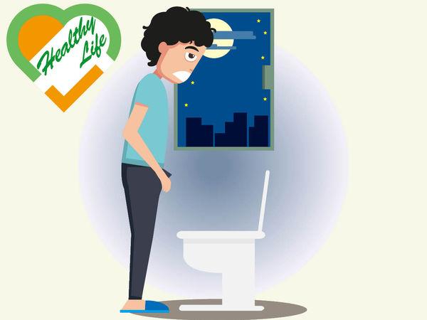 男士夜尿頻 恐前列腺增生