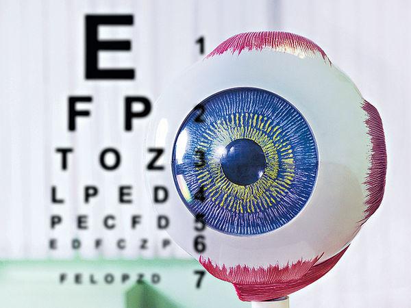 研3D打印眼球 助視障人士
