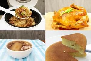 【簡易食譜】電飯煲食譜懶人包  臘味糯米飯/豉油雞/蘋果百合素湯/軟熟芝士蛋糕