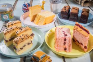 【台灣美食2019】台灣大熱創新口味古早味蛋糕 炙燒蜂蜜芝士/芋頭布甸/紅豆麻糬味