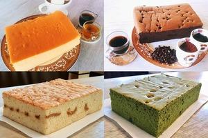 【台灣美食】台灣人氣蛋糕店每日新鮮出爐 抹茶紅豆/香濃花生古早味蛋糕
