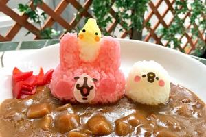 【東京Cafe/大阪Cafe】日本小鳥鸚鵡Cafe聯乘Kanehei 粉紅兔兔與P助美食造型可愛