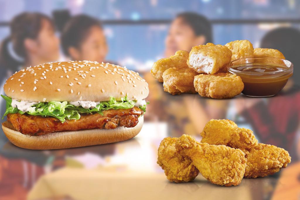 麥當勞超值套餐卡路里