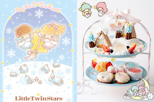 Little Twin Stars;little twin stars cafe;little twin stars蛋糕;little twin stars餐廳;little twin stars cafe 日本;東京little twin stars cafe;東京little twin stars cafe 2018