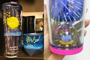 【泰國Starbucks】泰國Starbucks期間限定 水燈節夜景變色杯+大象水晶球杯