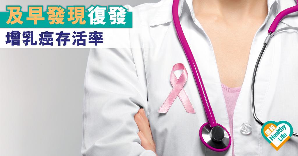 及早發現復發 增乳癌存活率