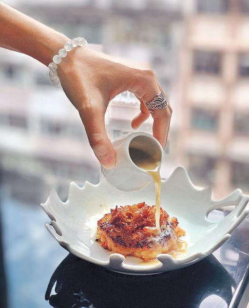 意大利餐館吃大閘蟹