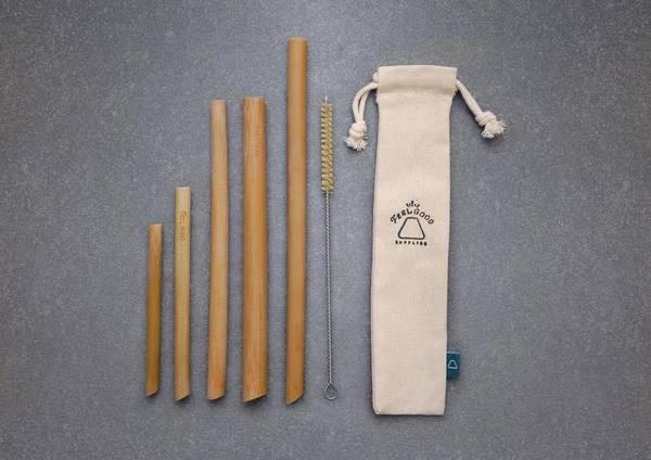 環保竹製飲管