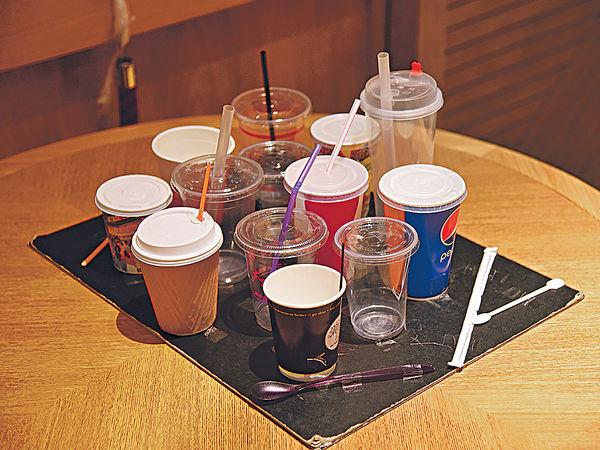 堂食濫發即棄餐具 最勁人均10件