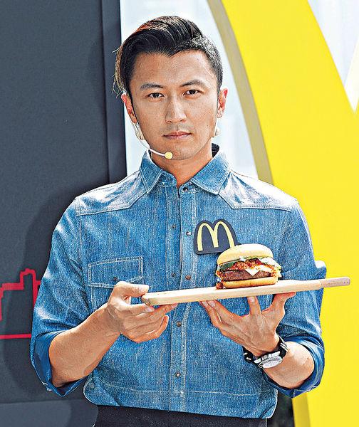 謝霆鋒地底創作 鋒味漢堡